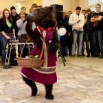 Дрессированный медведь